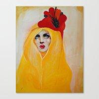 broken Canvas Prints featuring Broken by Felicia Cirstea