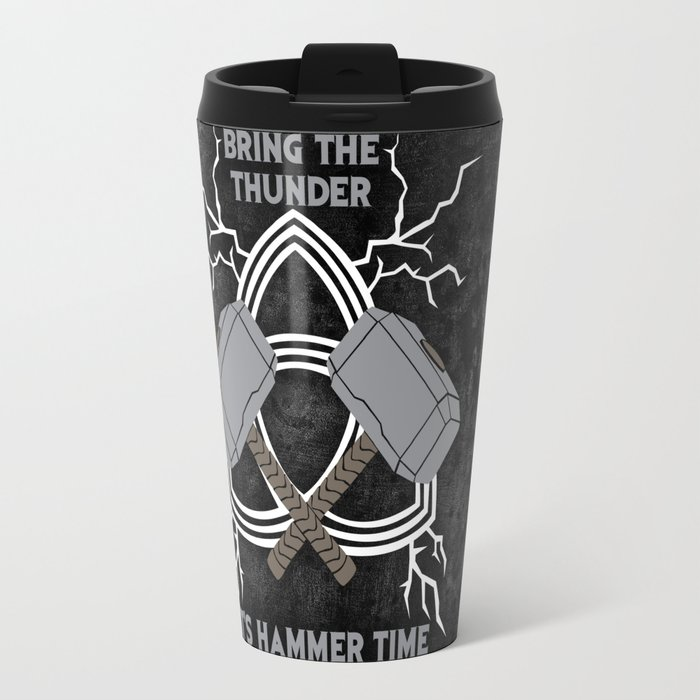 thor hammer time travel mug by sophiedoodle society6