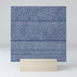 The Rosetta Stone // Navy Blue Mini Art Print