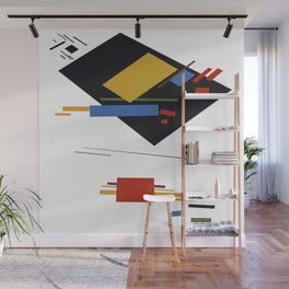 Geometric Abstract Malevic #9 Wall Mural