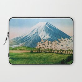 Resting before the Climb Laptop Sleeve