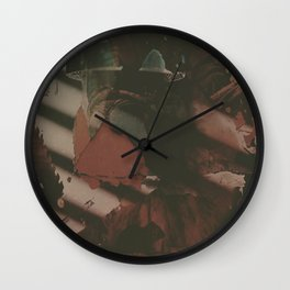 the fire of the forge Wall Clock