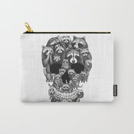 Skull from raccoons Carry-All Pouch
