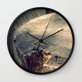 The Wood Wall Clock