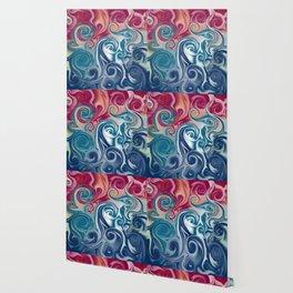 Spiral fluids Wallpaper