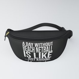 Beach Netball funny sports gift Fanny Pack