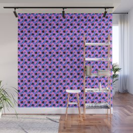 Violet Abstract pattern Wall Mural