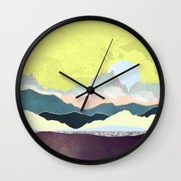 Pastel Afternoon Wall Clock