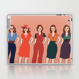 Peggy Carter Laptop & iPad Skin