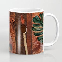 Forbidden Luau Tiki Party Coffee Mug