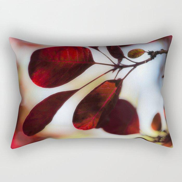 Smoke Bush Rectangular Pillow