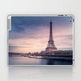 Eiffel Tower Sunset Laptop & iPad Skin