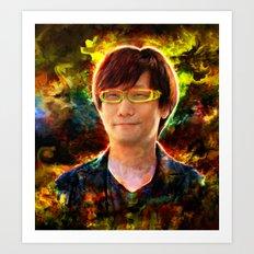 Hideo Kojima Art Print