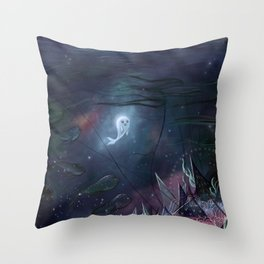 The Song of the Sea Throw Pillow
