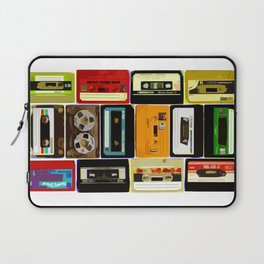 Retro Music Cassette Tapes - In Color Laptop Sleeve