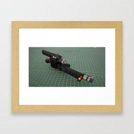 Ghostbusters Positron Collider colour render 1 Framed Art Print