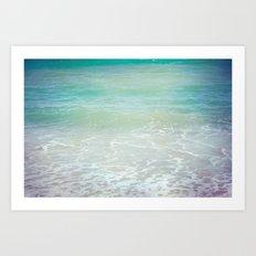 ocean's dream 03 Art Print