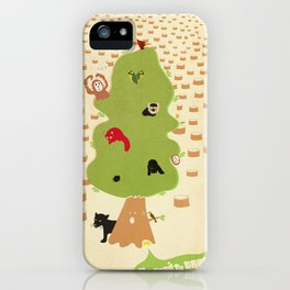 Be Good to Trees iPhone Case