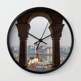 Budapest Life. Wall Clock