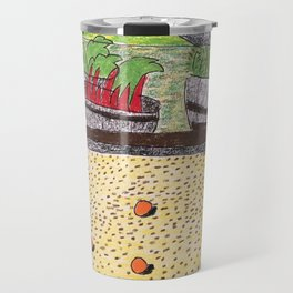 Bocce at Lerida Travel Mug
