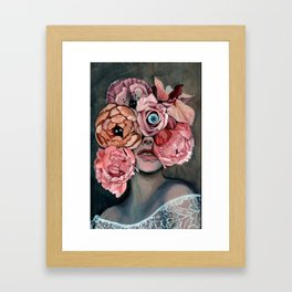 Flora_ii Framed Art Print