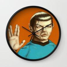 Mr. Spock Wall Clock