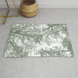 Abstract Trees Rug