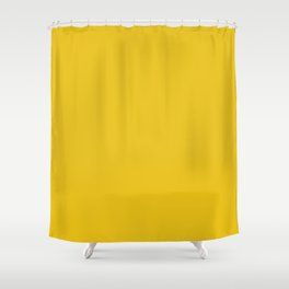 Light Golden Yellow Brown Color Shower Curtain