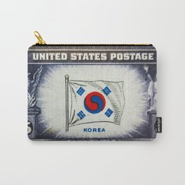 Flag of Korea Carry-All Pouch