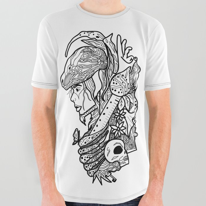 Snake_Charmer_v2_All_Over_Graphic_Tee_by_MAAHY__Large