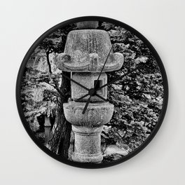 SF Japanese Tea Garden Study 3 Wall Clock