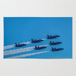 The Blue Angels Rug