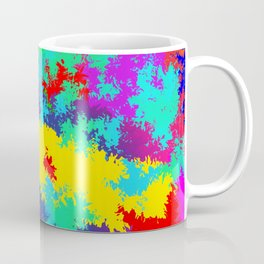 Colourful Random Trippy Pattern Coffee Mug