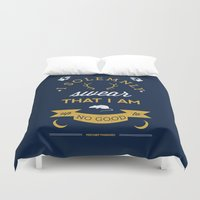 map Duvet Covers featuring Marauder's Map by Dorothy Leigh