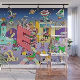 Leo Land Wall Mural