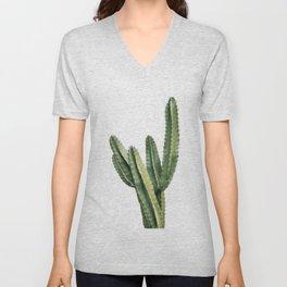 Cactus Print, Desert Wall Art, Boho Wall Art Unisex V-Neck