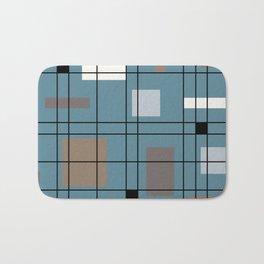 1950's Abstract Art Bath Mat