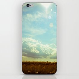 Shooting the Breeze iPhone Skin