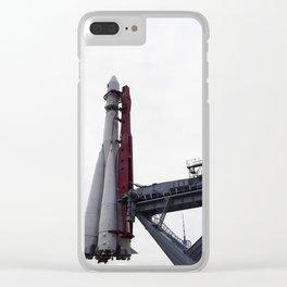rocket launcher Union Clear iPhone Case