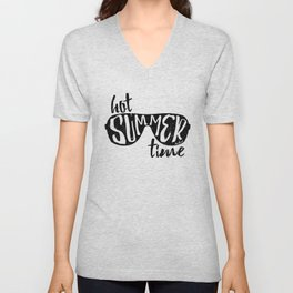 Hot Summer Time Unisex V-Neck