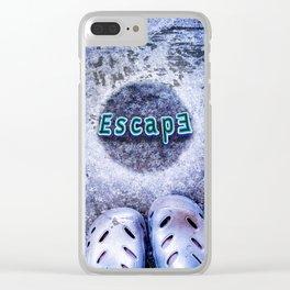 Escape through Clear iPhone Case