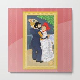 Dance in the country by Renoir Metal Print