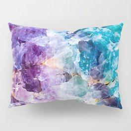 Multicolor quartz texture Pillow Sham