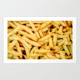 French Fries Art Print