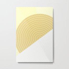 Gemetry Circle N3 Metal Print