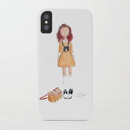 Suzy (Moonrise Kingdom) iPhone Case