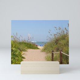 Path to the Sea Mini Art Print