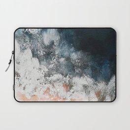 Aerial ocean, coast,  beach, waves, sea, prints, project Laptop Sleeve