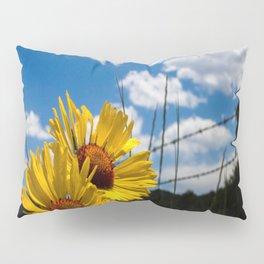 A Rocky Mountain Sunflower Pillow Sham