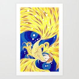 Zolotaya Rybka or Golden Fish Art Print